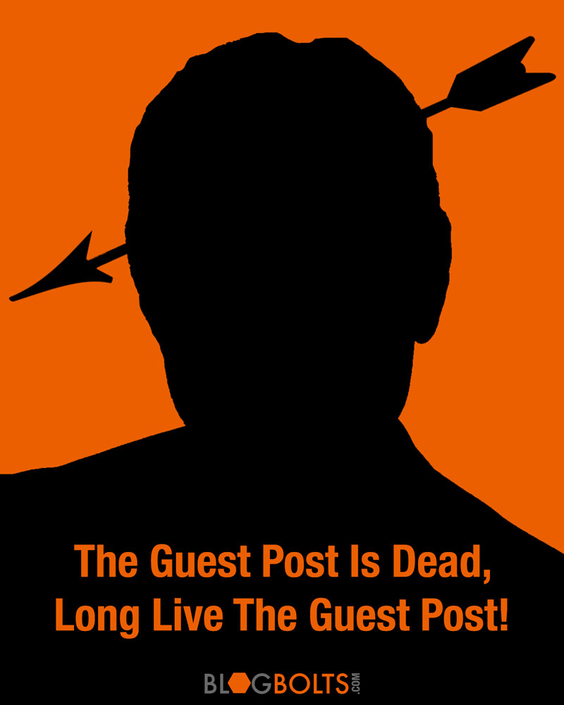Guest Post Joshua From Slimpalate: The Guest Post Is Dead, Long Live The Guest Post!